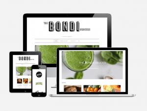 Wordpress Website Design for The Bondi Grocer