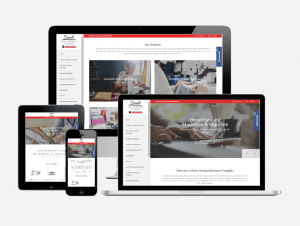 Shopify Wesbsite Redesign for Direct Sewing